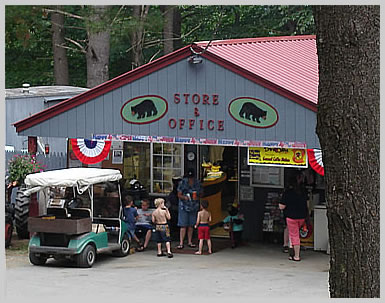 Running Bear Camping Area Store